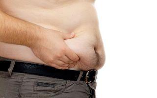 Почему появляется лишний вес у мужчин?