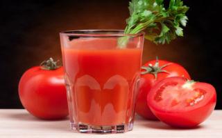 Польза томатного сока для организма человека