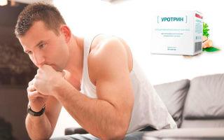Польза уротрина при мужских болезнях мочеполовой системы