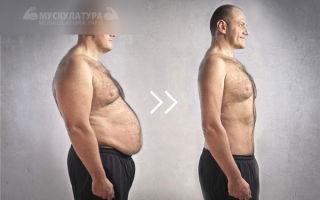 Согнать жир быстрым способом с живота мужчине
