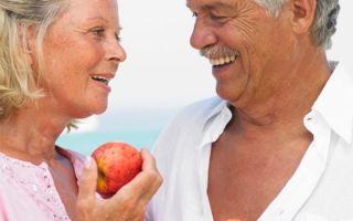 Питание мужчин в возрасте после 50 лет