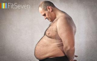 Как быстро и эффективно сбросить вес мужчине