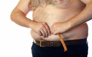 Характеристика абдоминального ожирения у мужчин