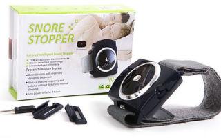 Инновационный прибор Snore stopper от храпа