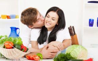 Правильное питание мужчины до планирования беременности