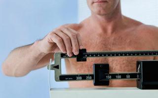 Причины резкого похудения у мужчин при нормальном питании