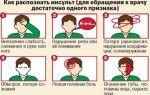 Каковы признаки микроинсульта у мужчин