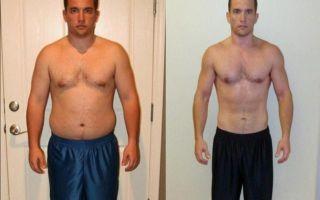 Как похудеть за месяц минимум на 10 кг мужчине?