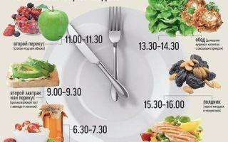 Качественное и здоровое питание для мужчин: меню на неделю