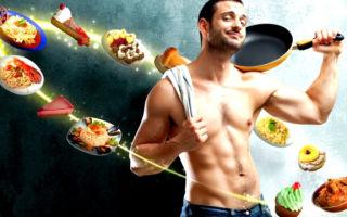 Диета для похудения живота и боков для мужчин — меню на неделю