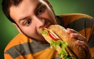Неправильное питание: от каких продуктов толстеют мужчины