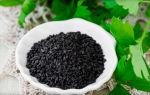 Почему черный кунжут эффективен от седины?