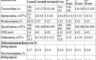 Каковы нормативные значения тромбоцитов в крови у мужчин?