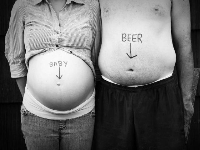 пиво и ребенок