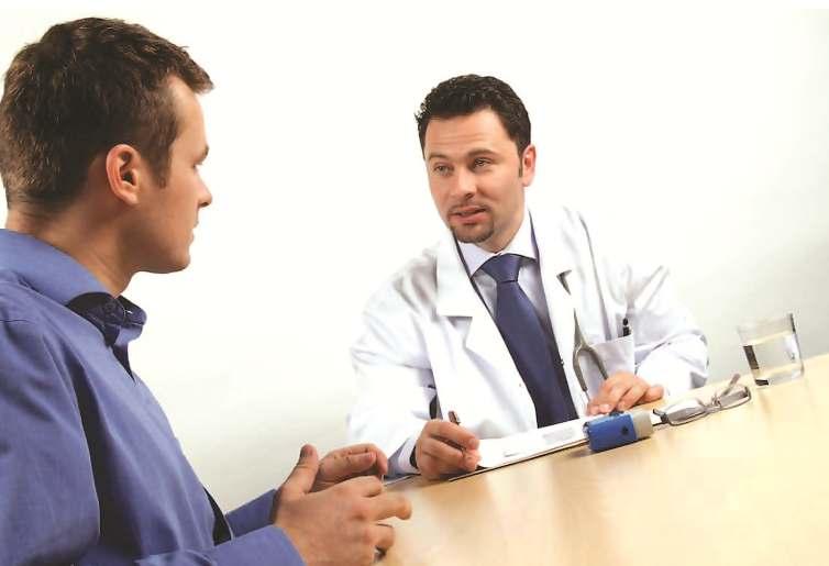 лечащий врач советует лекарство от везикулита