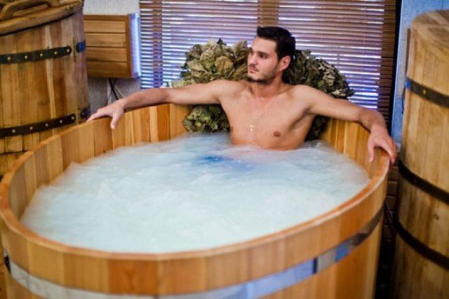 лечебная мужская ванна