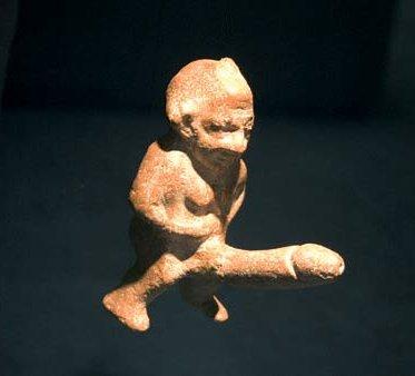 эрекция у каменного идола