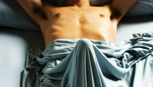 стояк под одеялом