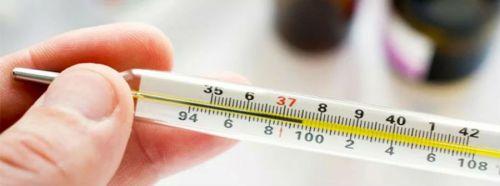 повышение температуры на градусниках