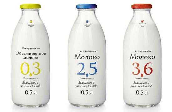 3 вида молока