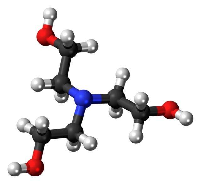 Триэтаноламин формула