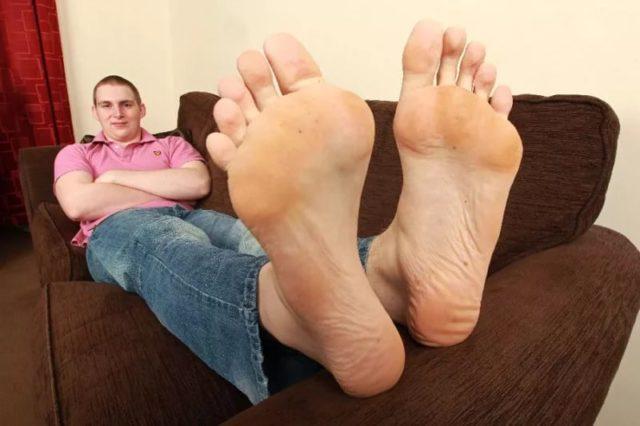 большие ноги