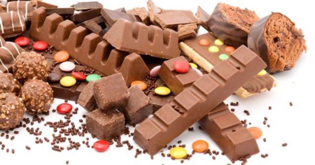 сладости шоколад последствия