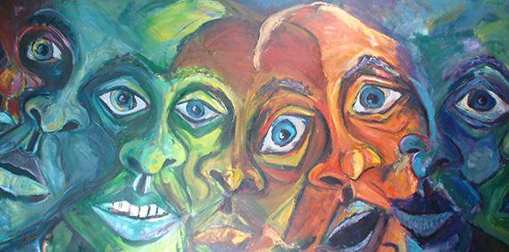 шизофрения рисунок