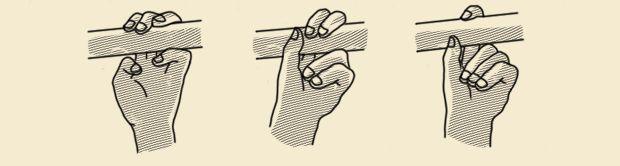 Подтягивание на пальцах