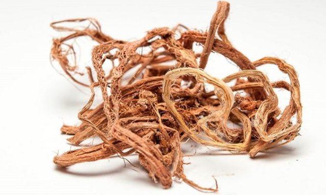 сушеные корни