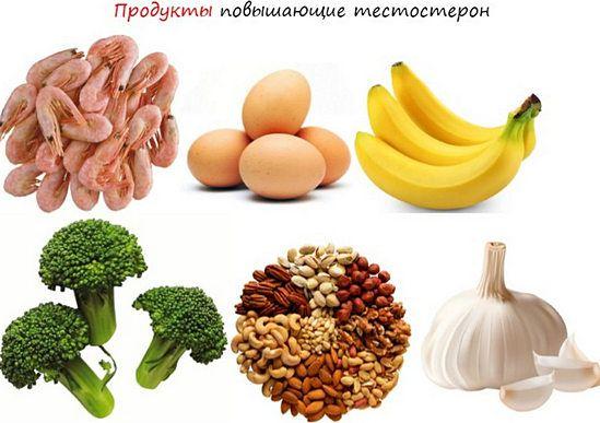 продукты, повышающие тестостерон