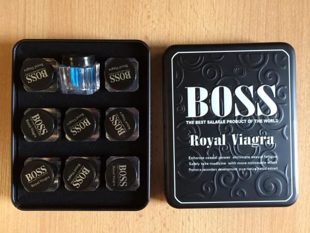 Таблетки Босс Роял Виагра для мужчин эффективность или пустая трата денег