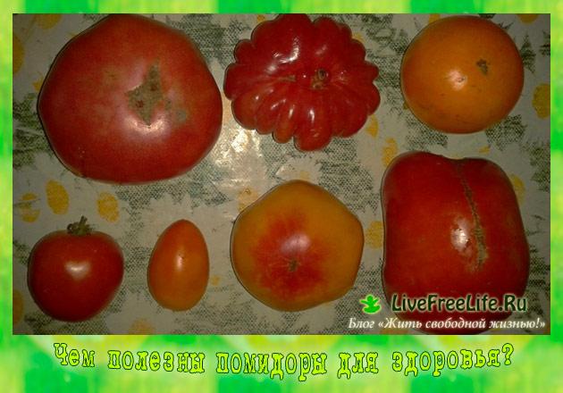 Чем полезен помидор для здоровья мужчин?