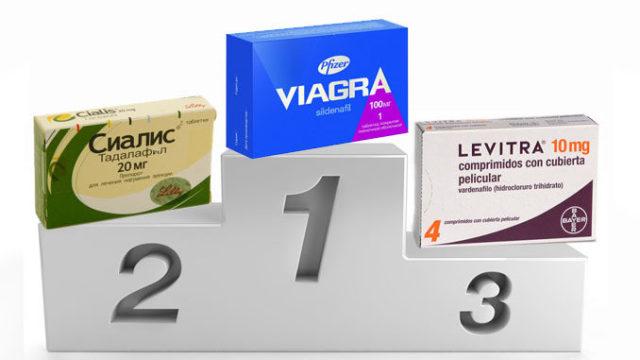 Что эффективнее сиалис или виагра