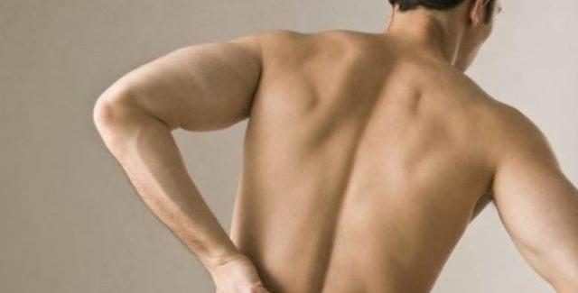 Боль в поясничном отделе позвоночника у мужчин