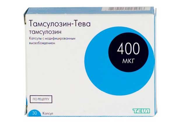 Тамсулозин при простатите  Лечение потнеции