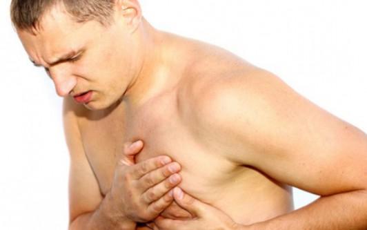 Болит сосок у мужчины
