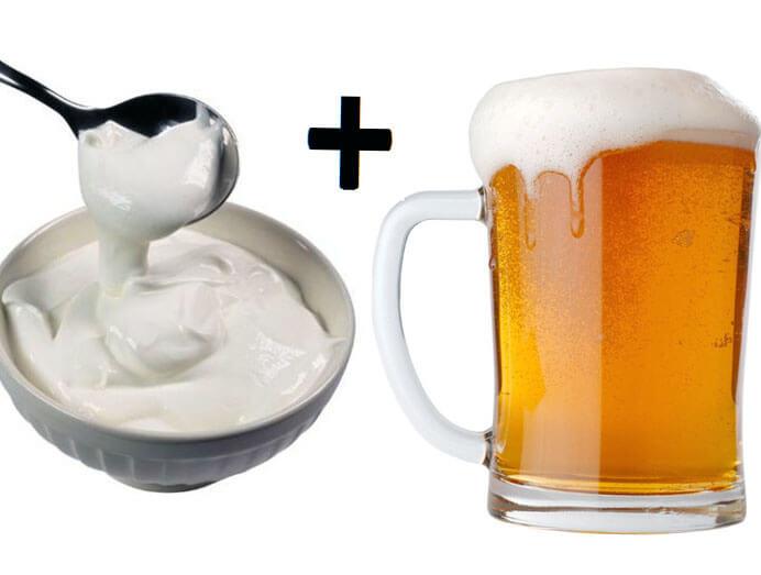 Как влияет пиво на мужскую потенцию: пиво со сметаной