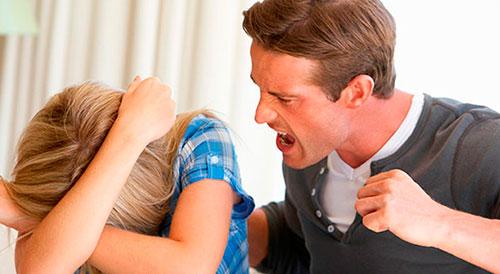 Приступы чрезмерной агрессии у мужчин