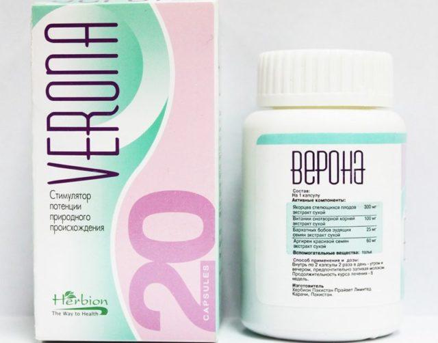 Верона стимулятор потенции - Лечение потнеции