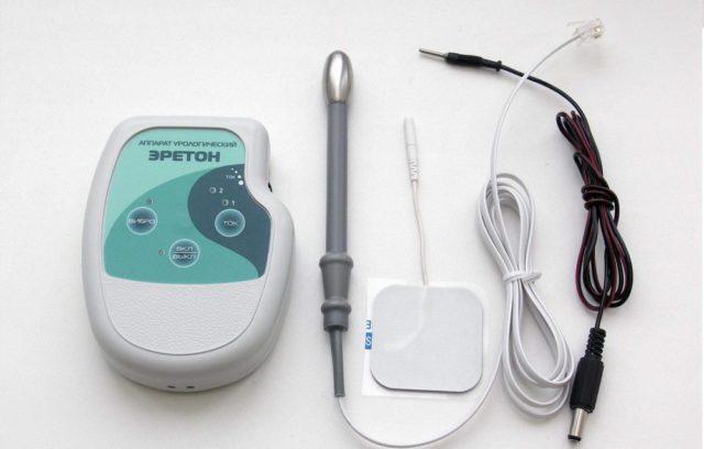 Применение медицинского прибора Ирбис в лечении простатита