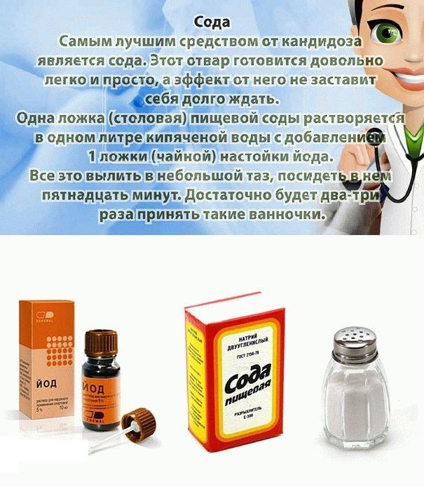 Лечение молочницы народными средствами в домашних условиях