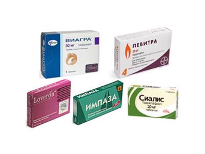 Какие лекарства влияют на потенцию